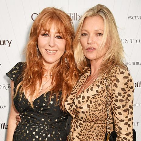 It wouldn't be London Fashion Week without Kate Moss - the supermodel attended her good friend and make-up artist Charlotte Tilbury's fragrance launch, where the pair partied the night away.