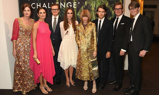 One of the hottest London Fashion Week tickets, the Green Capret Challenge held a star-studded event with BAFTA and the British Fashion Council - hosted by Colin Firth, Keira Knightley, Anna Wintour and Livia Firth.