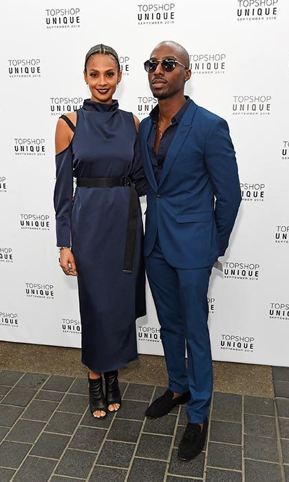 <em>Britain's Got Talent</em> judge Alesha Dixon was also in attendance, looking super chic as she arrived with her boyfriend Azuka Ononye.
