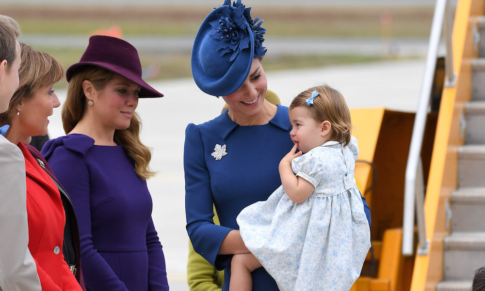 Sophie Grgoire Trudeau Greets Kate For Canadian Tour In A