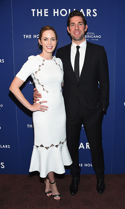 The actress has two daughters with her husband John Krasinski.