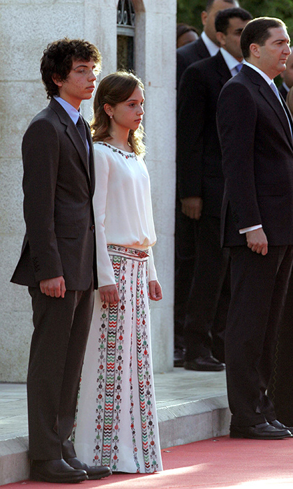 <p>Iman and her older brother Hussein have always been regular fixtures at momentous national events.