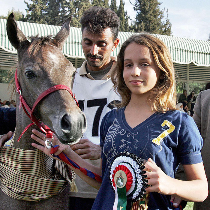 <p>Showing an aptitude for sports from a young age, Iman participated in the Middle East Championships horse show at the royal stables in Amman when she was 12.