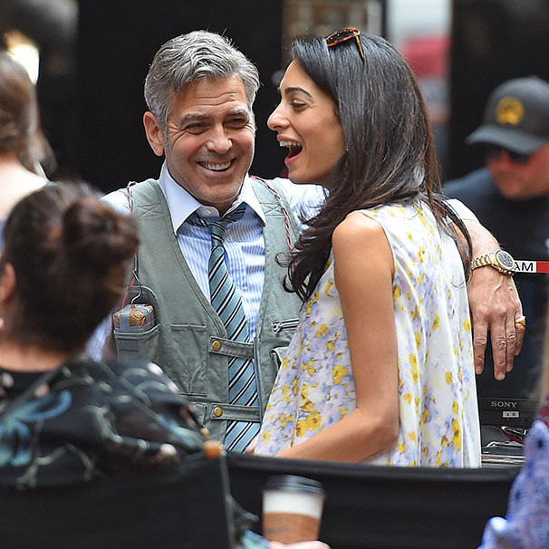 <p>The Hollywood star has confessed it didn't take him long to realise that Amal was 'the one'. 