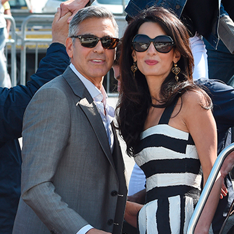 """I knew fairly quickly that I wanted to spend the rest of my life with Amal,"" George said of his surprise wedding proposal.  