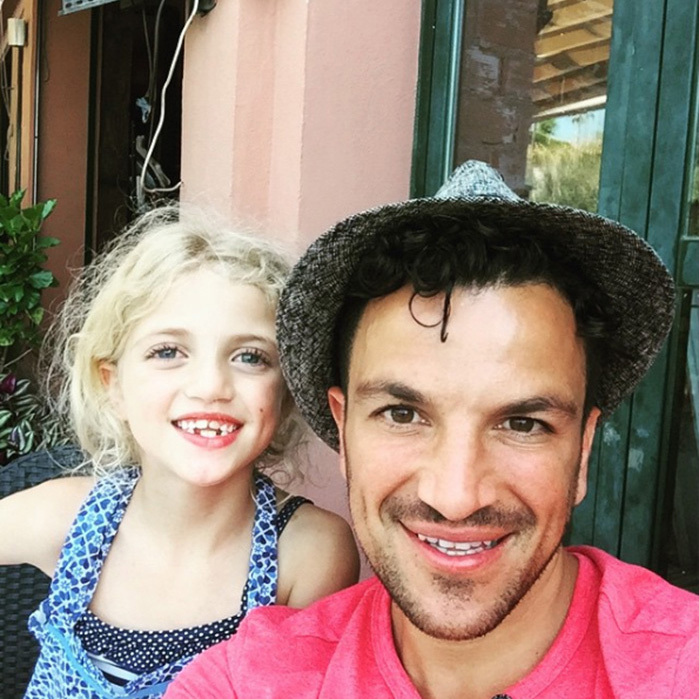 Proud parent Peter Andre loves to share photos of his three children, Princess, Junior and Amelia, giving fans an insight into their happy family life. 