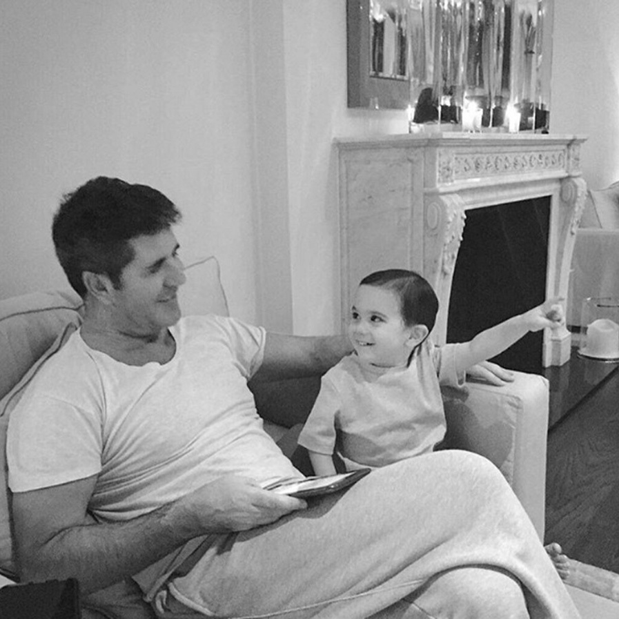 <p>Simon Cowell is the proud father to little Eric, and regularly chats about his only son. 