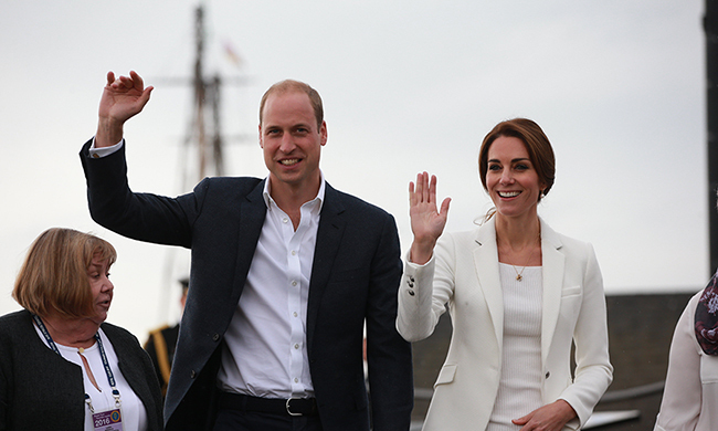 Prince William and Kate will visit Manchester next week.