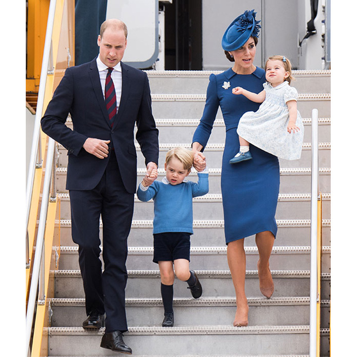 The Cambridges have just returned from a royal tour of Canada.