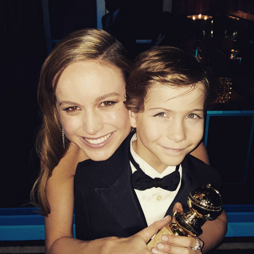 """Brie like Star Wars like me. So that's why we're best friends. And that was the beginning of our friendship."" (<a href=""http://people.com/movies/brie-larson-bonded-with-room-costar-jacob-tremblay-over-star-wars/"">People</a>.)