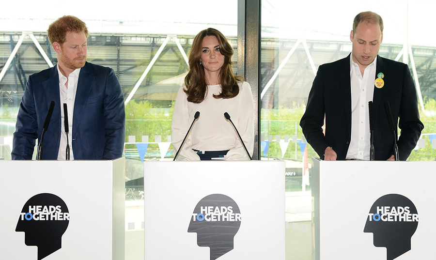 Prince Harry, Kate and Prince William will speak at a Heads Together reception.