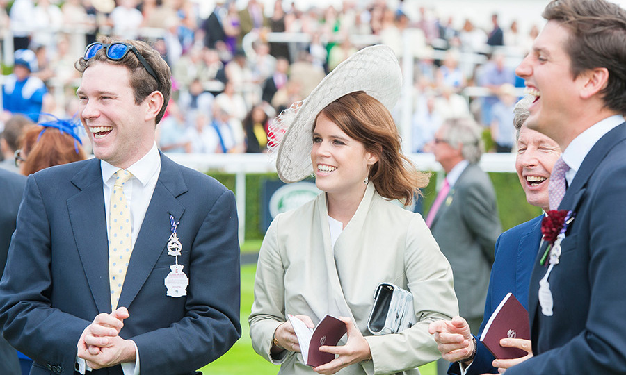 The pair met through mutual friends when Eugenie was at university.
