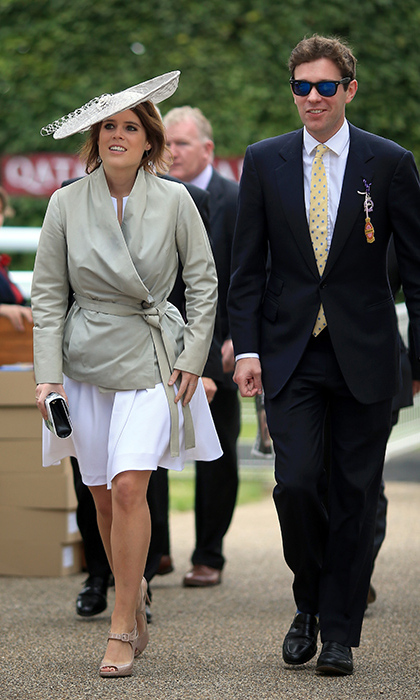 Eugenie invited Jack to Balmoral over the summer to meet the Queen properly.