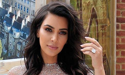 a666aacf7 Kim Kardashian shares the sweet story behind her stolen diamond ring from  Kanye West