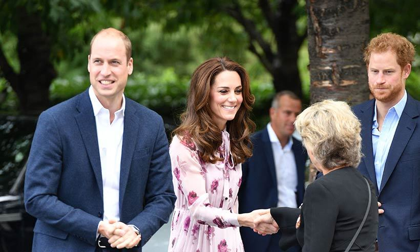 The royal trio joined forces on World Mental Health Day in support of their Heads Together campaign, later hopping on the London Eye to help end the stigma surrounding mental health. 