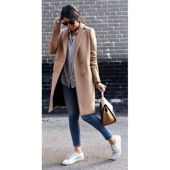 <h3>The Camel Coat</h3>
