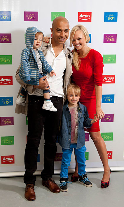 Emma Bunton, aka Baby Spice, is engaged to long-term partner Jade Jones. The sweet couple are parents to adorable sons Beau, nine, and Tate, aged five.