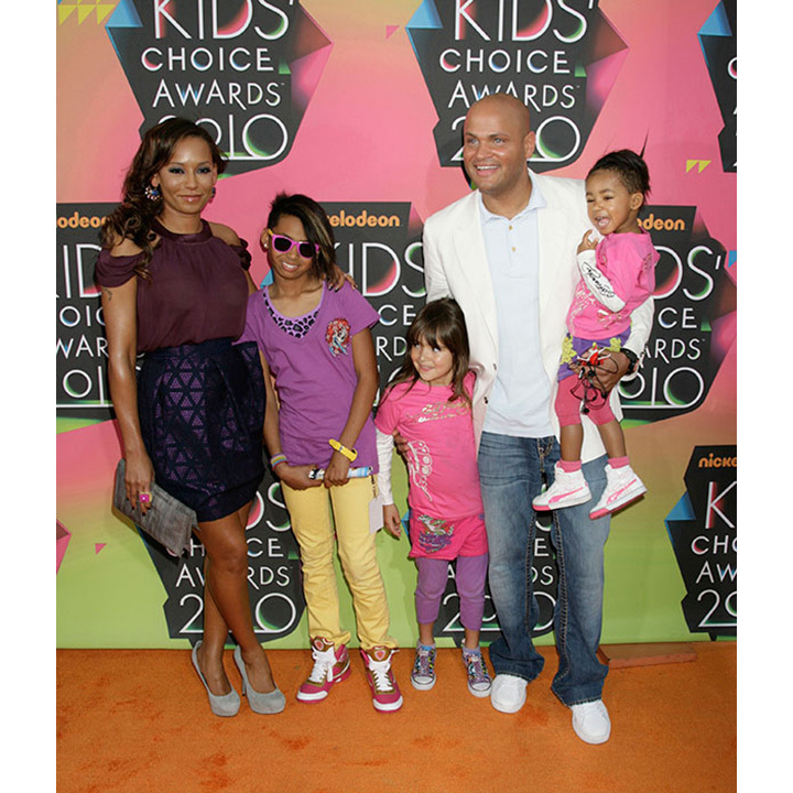 Mel B is a doting mother to three beautiful daughters. Phoenix, 17, was from the singer's marriage to backup dancer Jimmy Gulzar, which lasted from 1998 to 2000. Angel Iris, nine, is Mel B's daughter with Hollywood star Eddie Murphy and Madison, five, is from her marriage to director Stephen Belafonte.