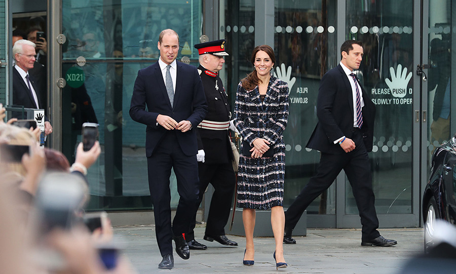 """We do quite a bit of running around after our kiddies,"" Kate added.