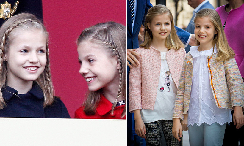 Princess Leonor and Princess Sofia of Spain are only a year and a half apart in age. They've grown up in the spotlight and shared the sweetest sisterly moments during public engagements and private family events.