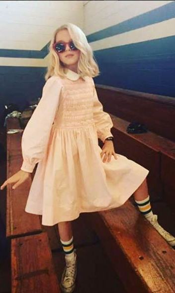 <b>Who?</b> Eleven from <i>Stranger Things</i>