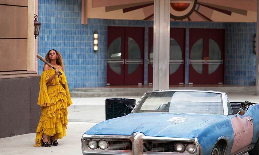 <b>Who?</b> Beyoncé in Lemonade