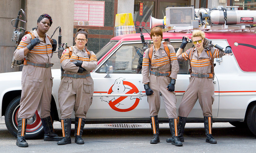 <b>Who?</b> The new Ghostbusters