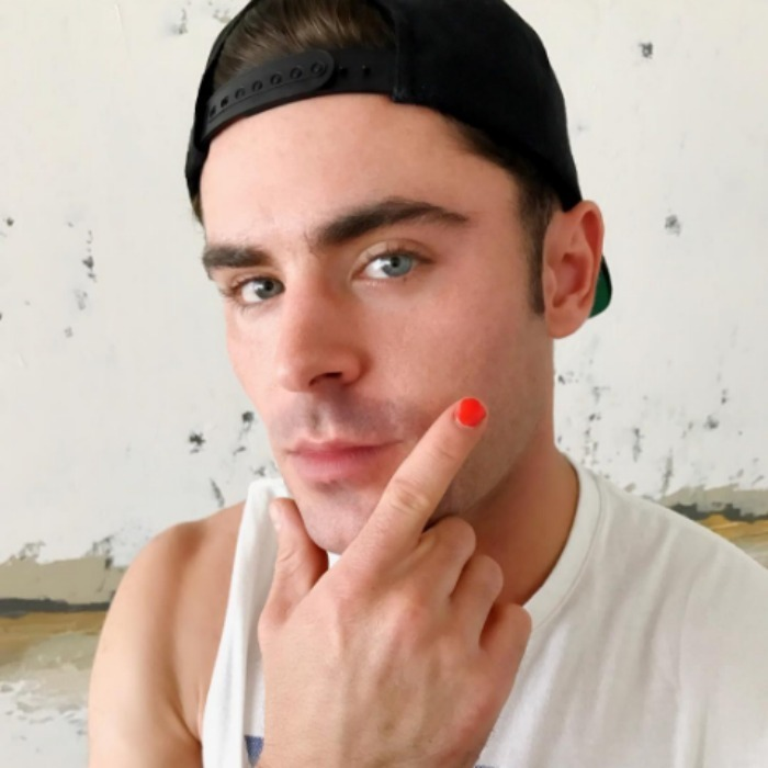 Some of Hollywood's leading men are nailing it with the latest Internet challenge. Stars like Zac Efron and the Hemsworth brothers have nominated each other to take part in the #PolishedMan campaign to raise awareness for the work YGAP is doing to support young victims of physical and/or sexual abuse. 