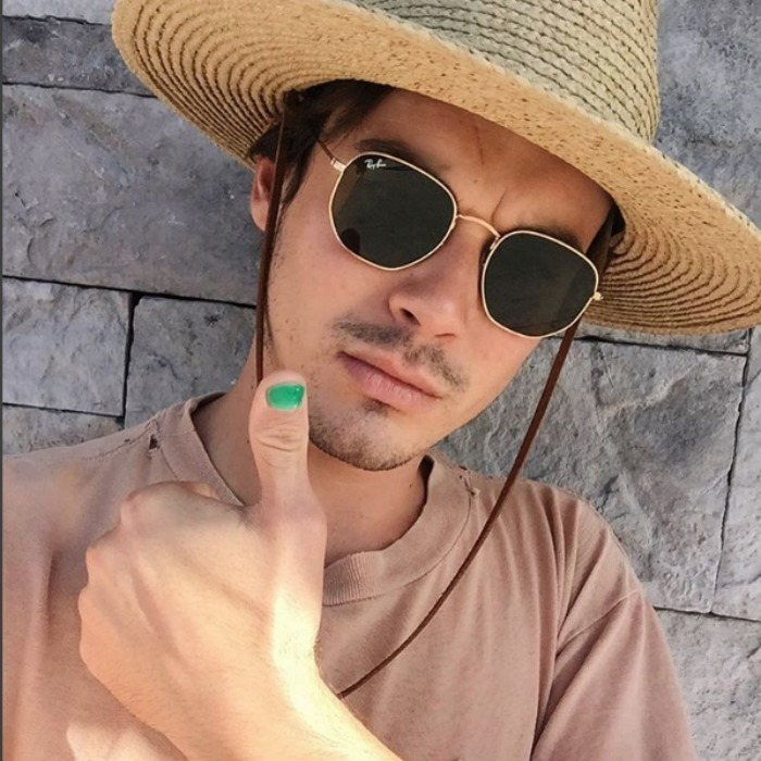 <i>Pretty Little Liars</i> Tyler Blackburn had a green thumb to bring awareness. 