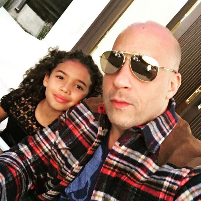 "Vin Diesel enjoyed a night out with his daughter Hania Riley Sinclair. The actor shared a photo with his little girl writing, ""Taking the little ones to their first concert...All love.""