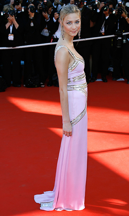 Long before she was Monaco royal Pierre Casiraghi's blushing bride, Beatrice Borromeo swanned down the red carpet in powder pink for the <em>Marie Antoinette</em> premiere at the 59th Cannes Film Festival.