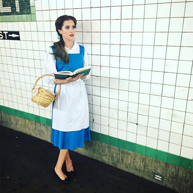 Allison Williams looks perfect as Belle from <i>Beauty and the Beast</i>