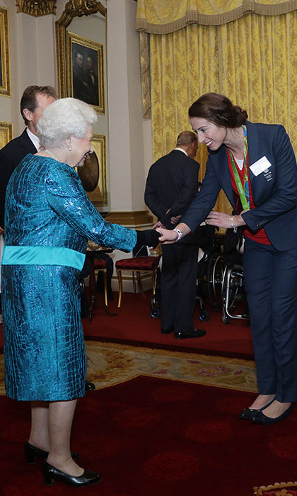 "The Queen, who previously praised the Team GB squad for the ""magnificent"" performance in Rio, hosted a similar celebration after London 2012.