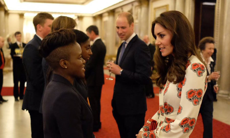 The British royals even got to meet boxer Nicola Adams, who claimed a gold medal at Rio this year.