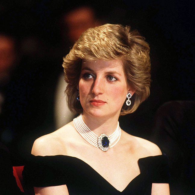 The Countess was Princess Diana's stepmother. 