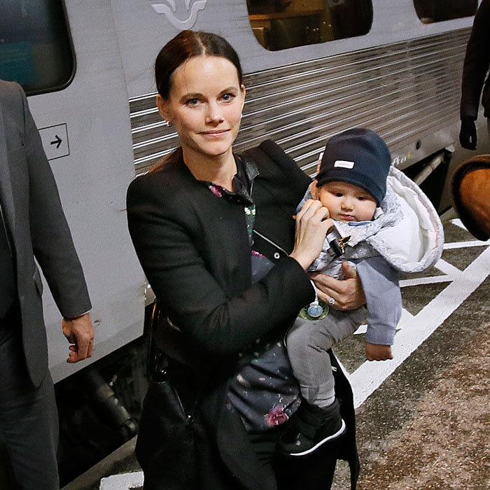 Prince Alexander of Sweden enjoyed a train ride with his parents. The little royal was spotted arriving at the Karlstad Railway Station in Sweden on October 20. 