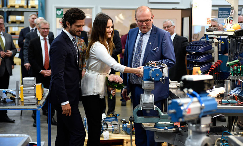 Prince alexander of sweden joins his parents prince carl for Alexander manufacturing company
