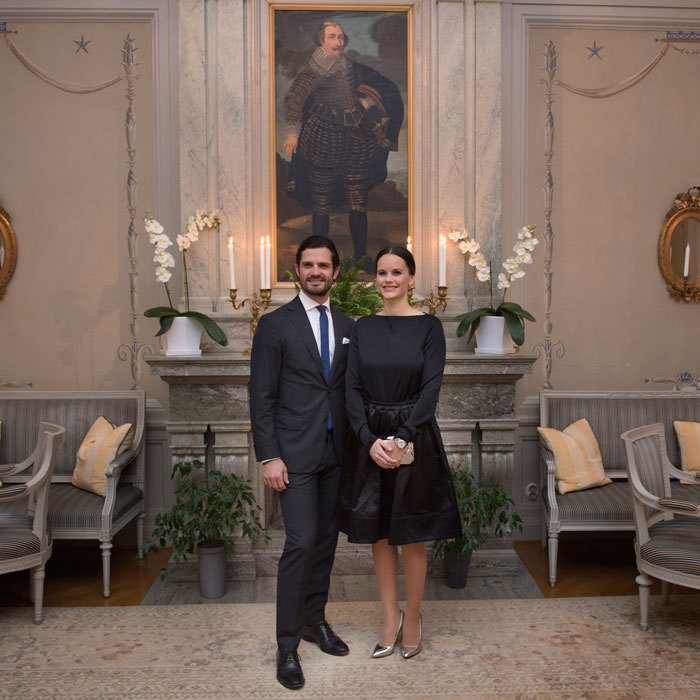 Carl and Sofia, who are also known as the Duke and Duchess of Värmland, cleaned up nicely after a busy day of engagements in their country. In the evening, the couple attended a dinner at the governor''s residence in Karlstad, Sweden.