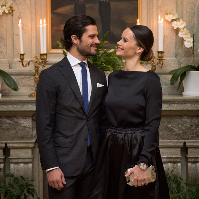 The royal pair could not have looked more in love for their night at the governor's residence.