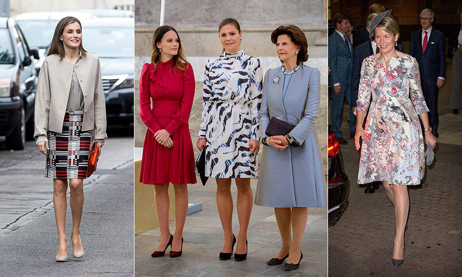 Click through our gallery to see which royals stepped out in style this week, where prints were definitely on the mark...