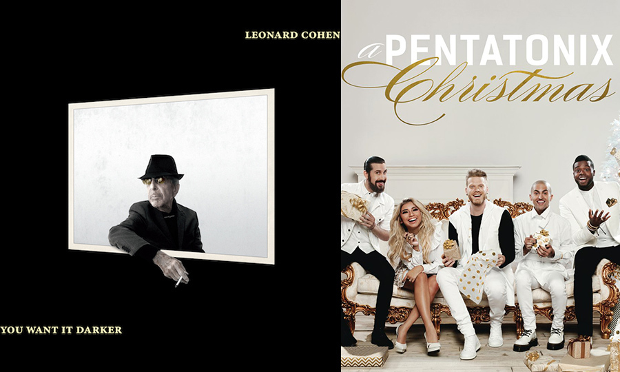 Listen to this: New singles from Pentatonix and Leonard Cohen