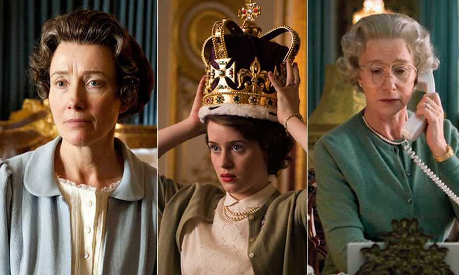 Throughout the Queen's reign, her life story has inspired a variety of films, television movies and plays, all showcasing different sides and experiences of the British monarch.    