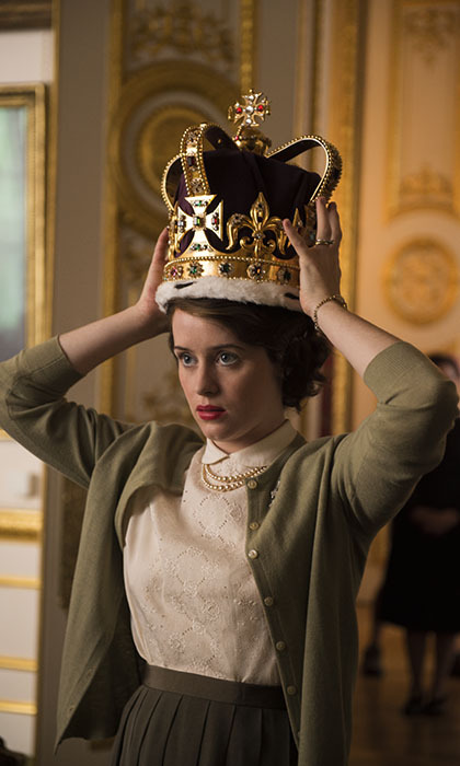 <h3>Claire Foy, <i>The Crown</i></h3>