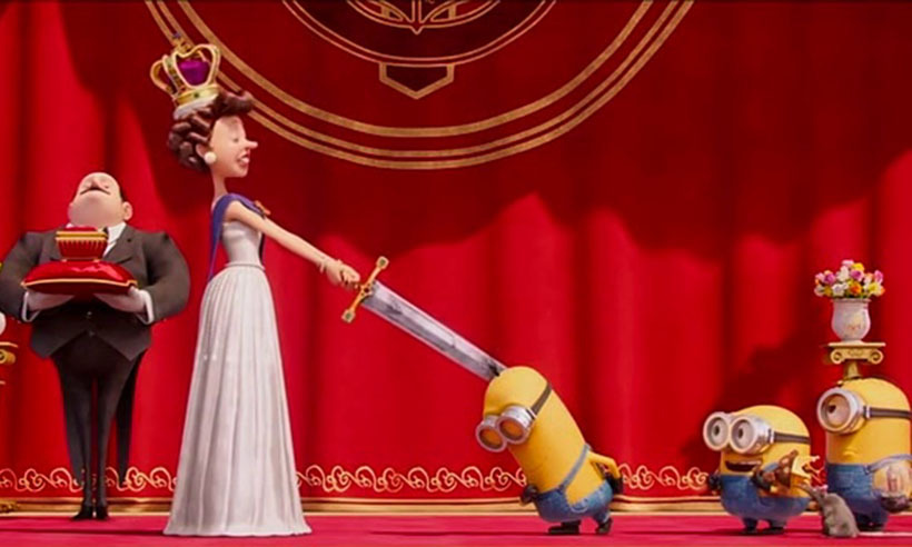 <h3>Jennifer Saunders, <i>Minions</i></h3>