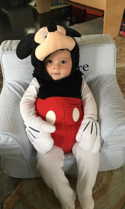 Ivanka Trump's seven-month-old son Theodore makes an adorable Mickey Mouse!