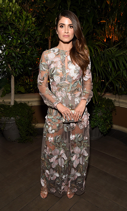 Nikki Reed in Monique Lhuillier