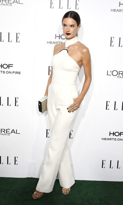 Alessandra Ambrosio in David Koma