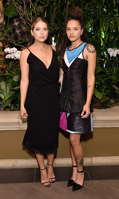Ashley Benson and Sasha Lane in Louis Vuitton