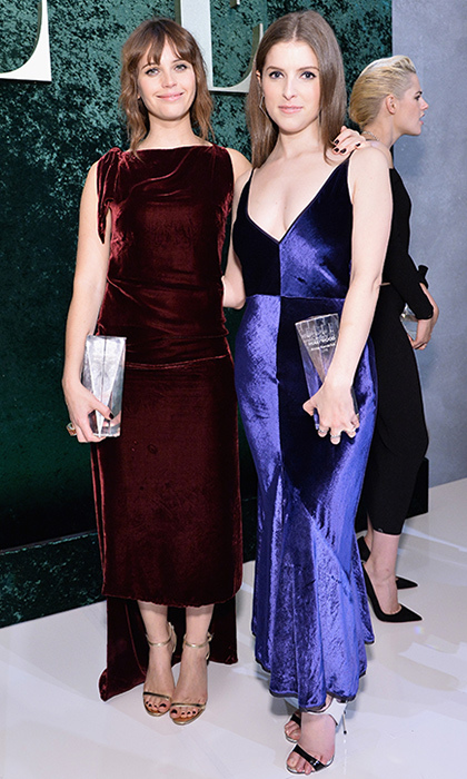 Felicity Jones and Anna Kendrick