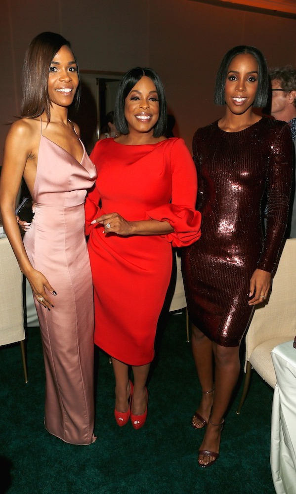 Michelle Williams in Fame and Partners, Niecy Nash and Kelly Rowland